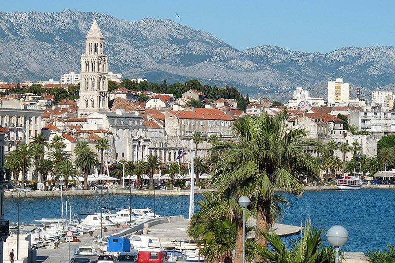 Split, Croatia - Explore Croatia Bosnia Montenegro Albania Greece by cultural tour 21 days. Monterrasol Travel small group minivan tour.