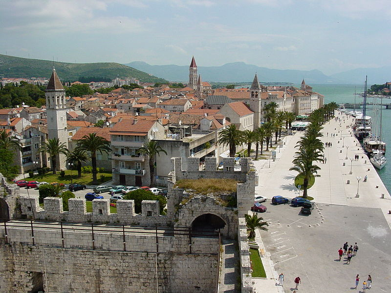 Trogir, Croatia - Croatia + Bosnia all seasons discovery 10 days tour from Zagreb to Dubrovnik. Monterrasol Travel small group tour by car.