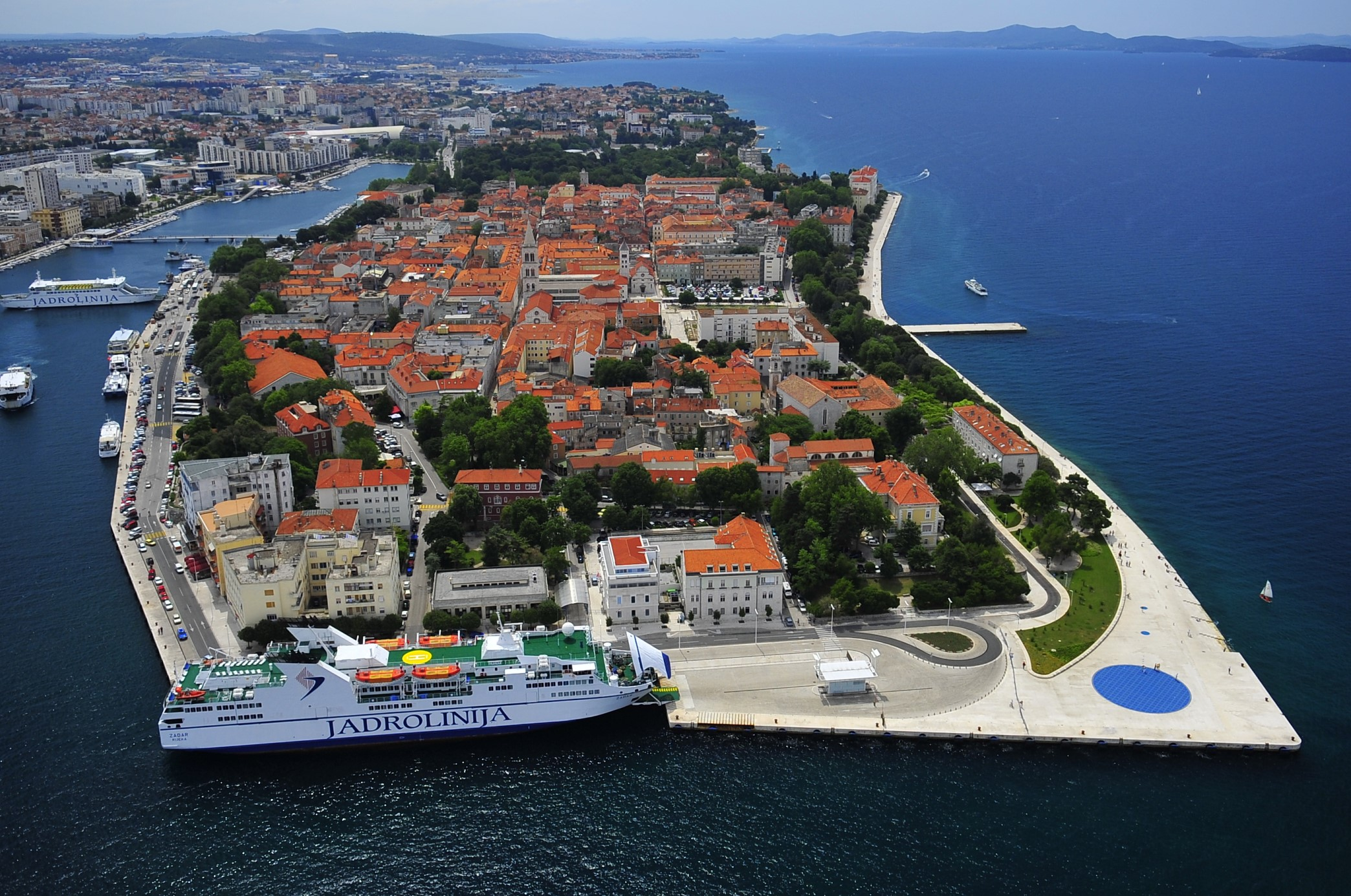 Zadar, Croatia - Monterrasol small group tours to Zadar, Croatia. Travel agency offers small group car tours to see Zadar in Croatia. Order small group tour to Zadar with departure date on request.