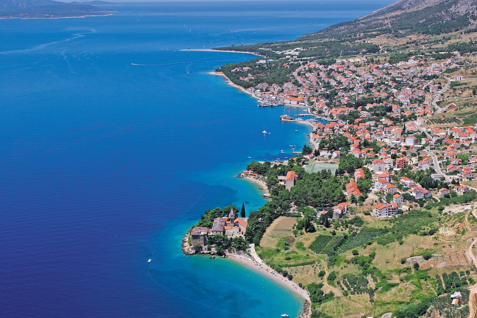 Brač (Brac), Croatia - Monterrasol small group tours to Brač (Brac), Croatia. Travel agency offers small group car tours to see Brač (Brac) in Croatia. Order small group tour to Brač (Brac) with departure date on request.