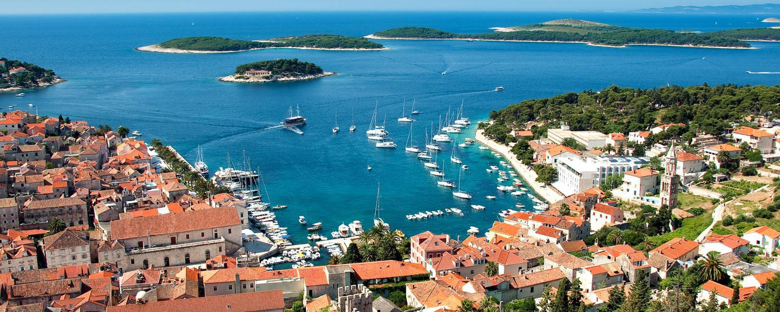 Hvar, Croatia - Monterrasol small group tours to Hvar, Croatia. Travel agency offers small group car tours to see Hvar in Croatia. Order small group tour to Hvar with departure date on request.