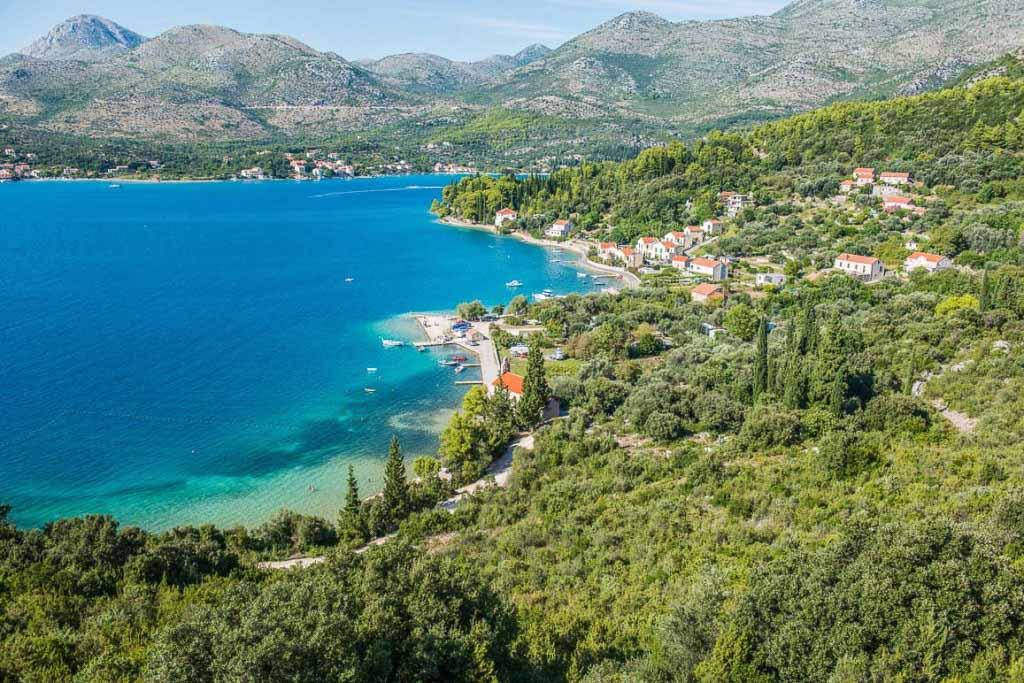 Slano, Croatia - Summer 6 days tour from Dubrovnik to visit Montenegro and explore Bosnia. Small group minivan tour by Monterrasol Travel.