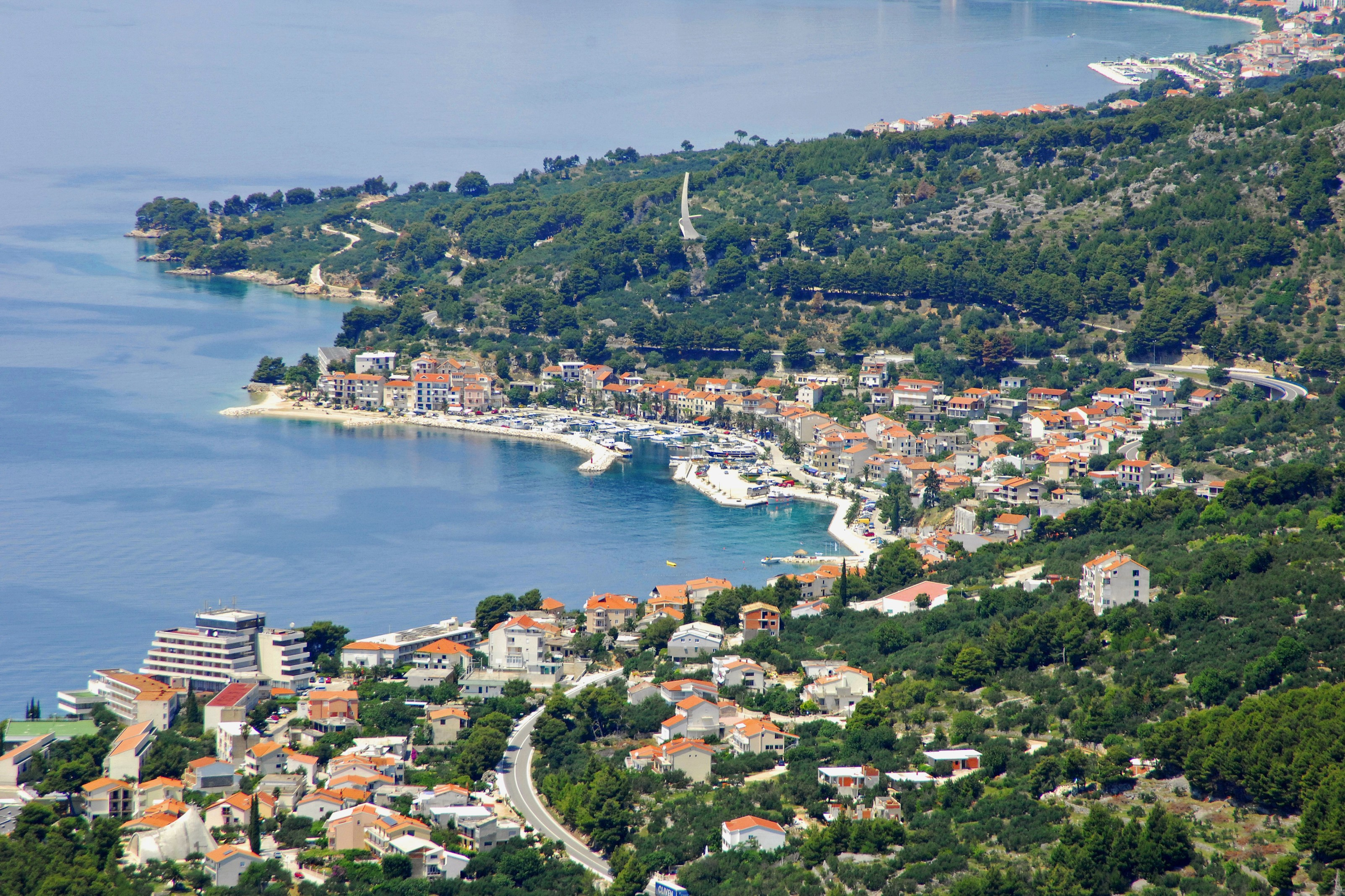 Podgora, Croatia - Monterrasol small group tours to Podgora, Croatia. Travel agency offers small group car tours to see Podgora in Croatia. Order small group tour to Podgora with departure date on request.