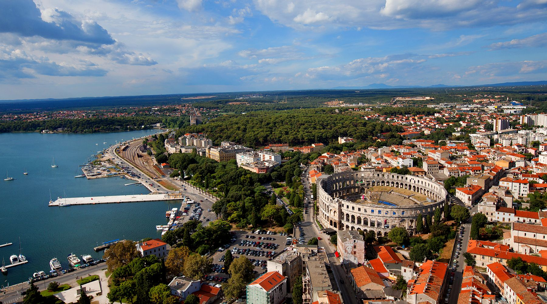 Pula, Croatia - Monterrasol small group tours to Pula, Croatia. Travel agency offers small group car tours to see Pula in Croatia. Order small group tour to Pula with departure date on request.