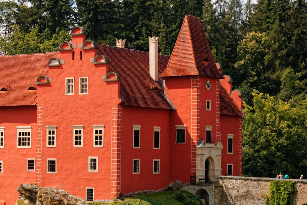 Červená Lhota (Cervena Lhota), Czech Republic - Czech castles and fortresses 22 days tour from Vienna. Small group minivan tour by Monterrasol Travel.