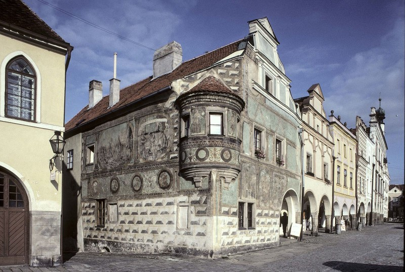 Telč (Telc), Czech Republic - Czech castles 16 days tour from Vienna. Small group minivan tour by Monterrasol Travel.
