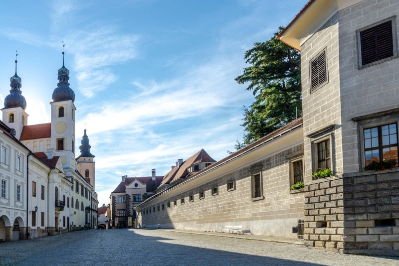Telč (Telc), Czech Republic - Czech castles and fortresses 22 days tour from Vienna. Small group minivan tour by Monterrasol Travel.