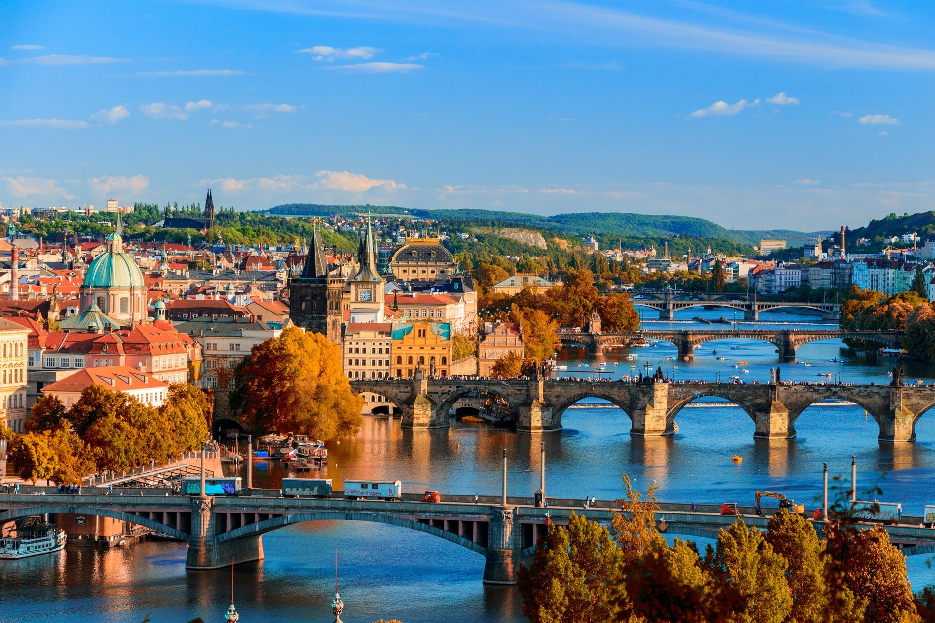 Praha (Prague), Czech Republic - Monterrasol small group tours to Czech Republic. Travel agency offers small group car tours to see Czech Republic in Czech Republic. Order small group tour to Czech Republic with departure date on request.