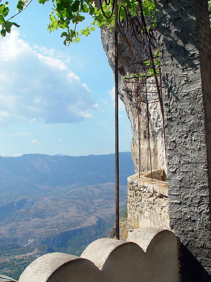Ostrog, Montenegro - Explore Croatia Bosnia Montenegro by in-depth cultural tour 15 days. Monterrasol Travel minivan small group tour.