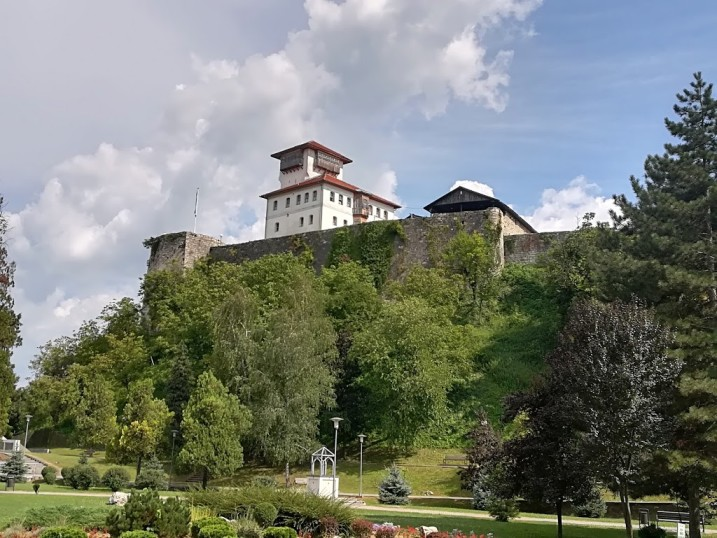 Gradačac (Gradacac), Bosnia and Herzegovina - Balkans castles tour 13 days. Visit 17 castles & fortresses in Hungary, Croatia, Bosnia. Monterrasol Travel minivan small group tour.