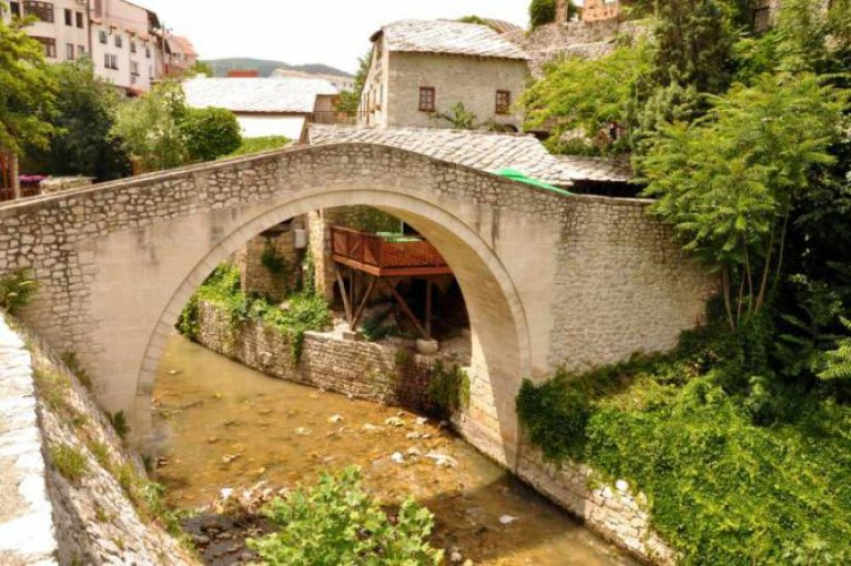 Mostar, Bosnia and Herzegovina - All seasons discovery Bosnia + Montenegro 4 days tour from Korcula. Small group tour with minivan by Monterrasol Travel.