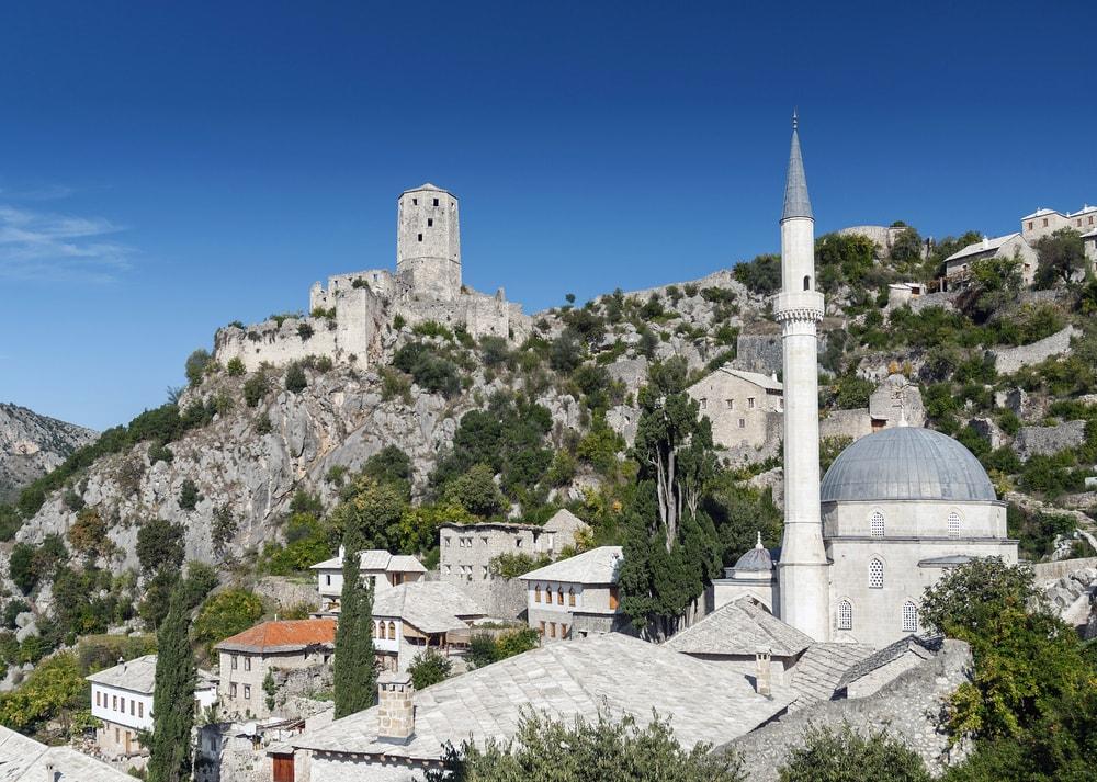 Počitelj (Pocitelj), Bosnia and Herzegovina - All seasons 9 days Bosnia discovery non-touristy places tour from Tuzla. Small group tour with minivan by Monterrasol Travel.