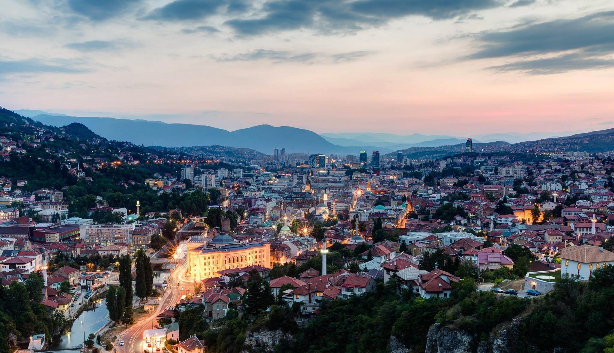 Sarajevo, Bosnia and Herzegovina - Year round Bosnia & Montenegro discovery 8 days tour from Korcula. Monterrasol Travel small group tour in minivan.