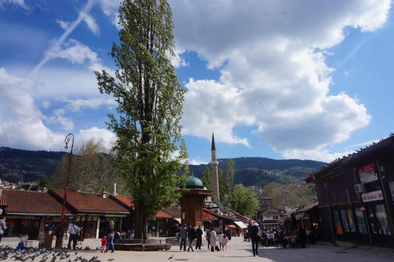 Sarajevo, Bosnia and Herzegovina - All seasons 3 days Bosnia mini tour from Makarska. Small group tour in minivan from Monterrasol Travel.