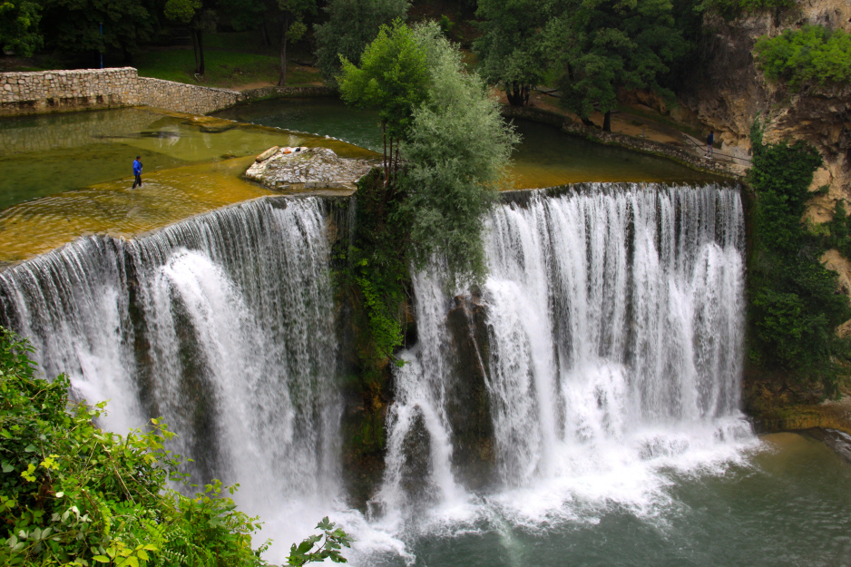 Jajce, Bosnia and Herzegovina - All seasons 9 days Bosnia discovery non-touristy tour from Mostar. Monterrasol Travel small group tour by car.