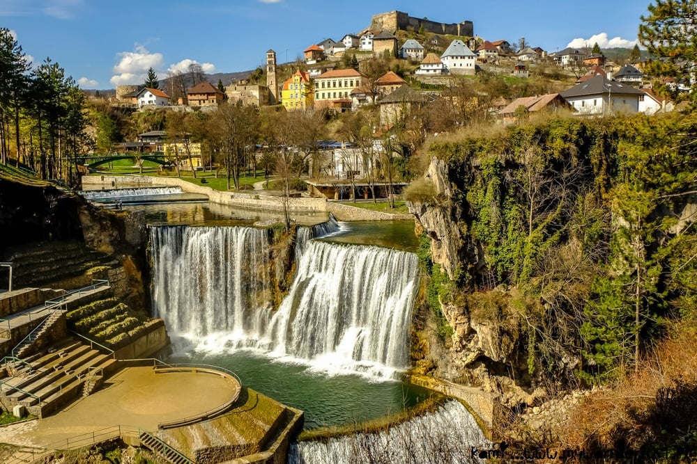 Jajce, Bosnia and Herzegovina - Discover best of Bosnia in 7 days tour from Dubrovnik. Monterrasol Travel small group tour in minivan.
