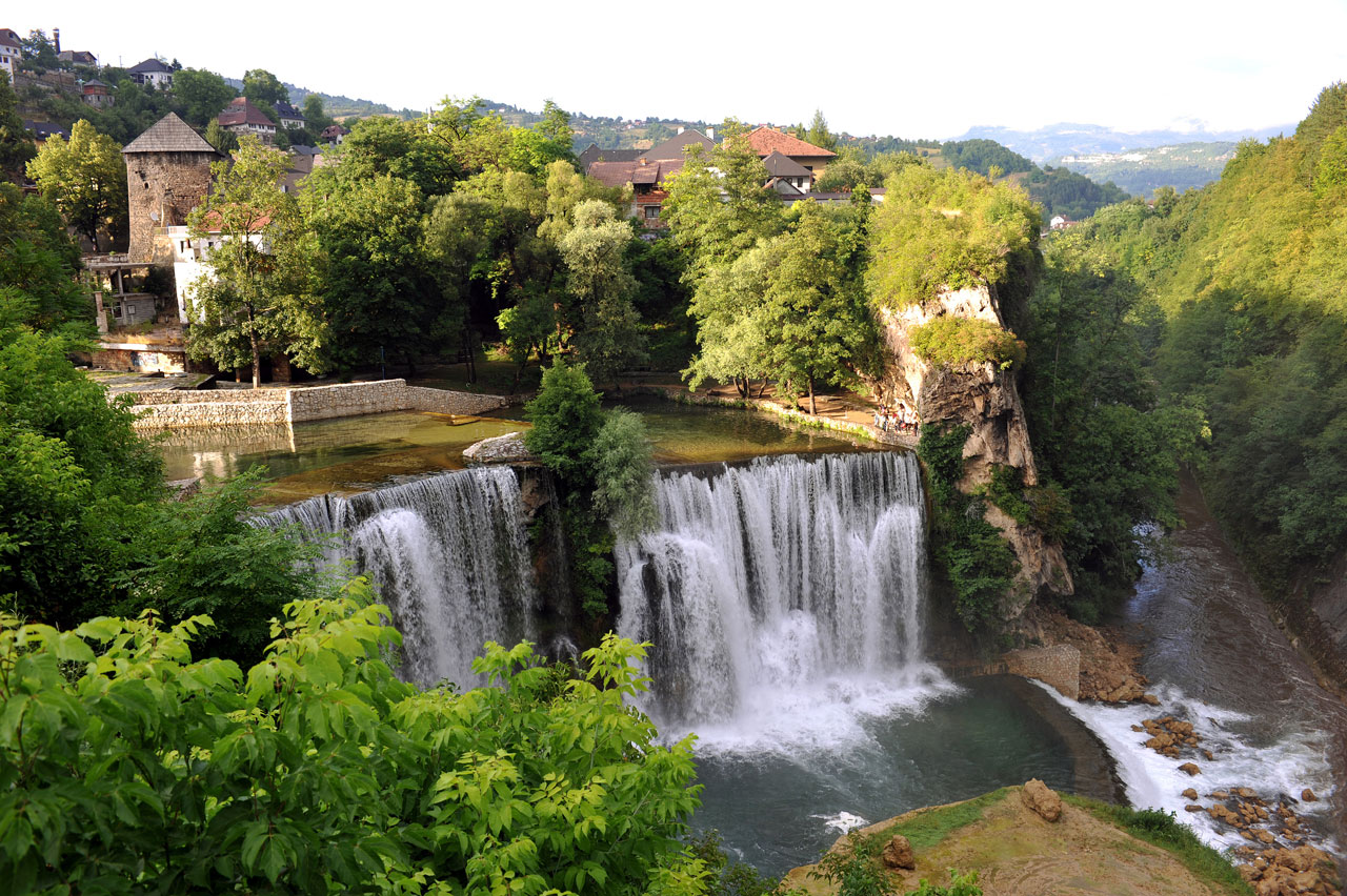 Jajce, Bosnia and Herzegovina - Discover Bosnia Montenegro Macedonia in 14 days tour. Small group tour with minivan by Monterrasol Travel.