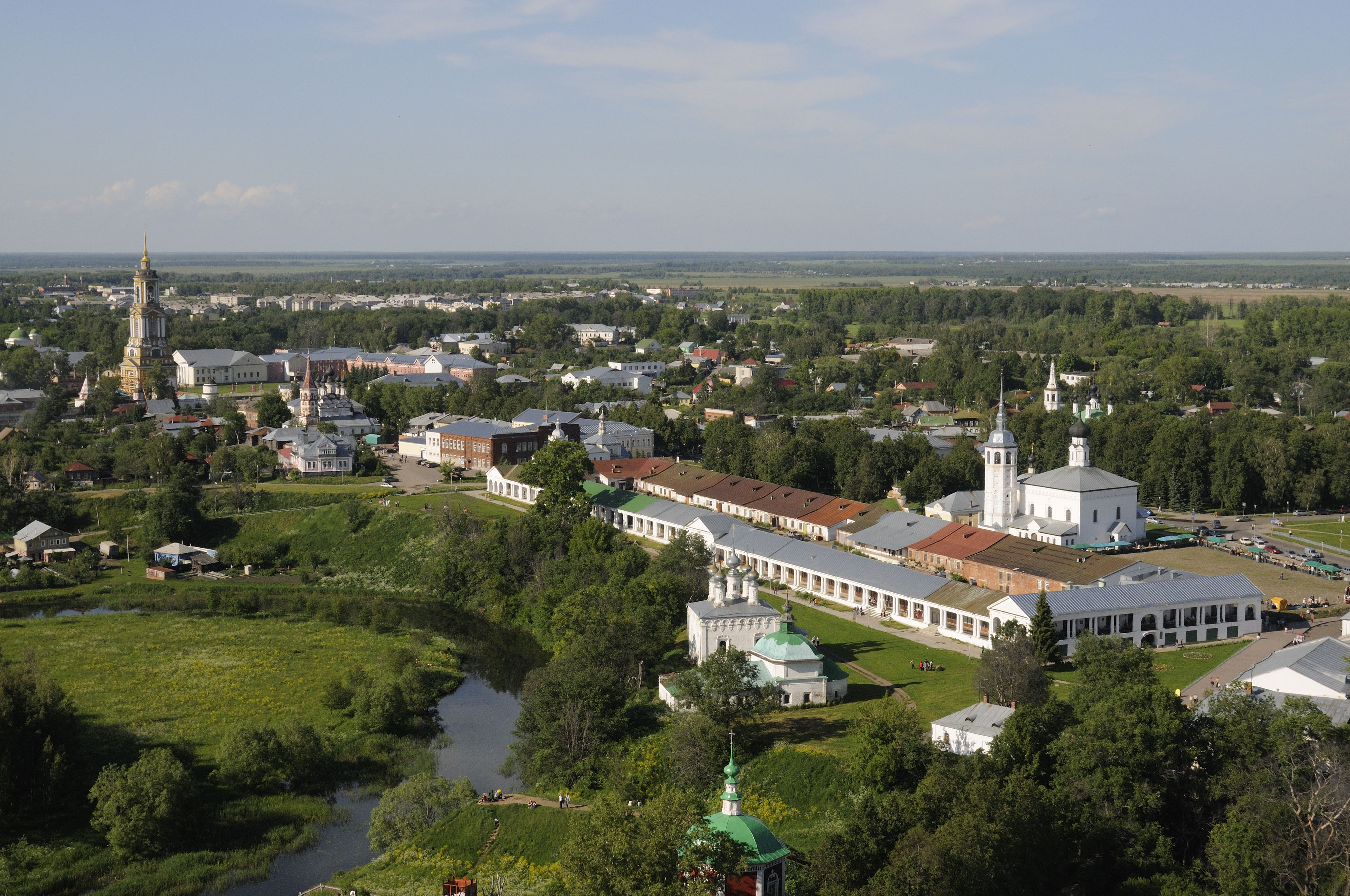 Суздаль (Suzdal), Russia - Monterrasol small group tours to Russia. Travel agency offers small group car tours to see Russia in Russia. Order small group tour to Russia with departure date on request.