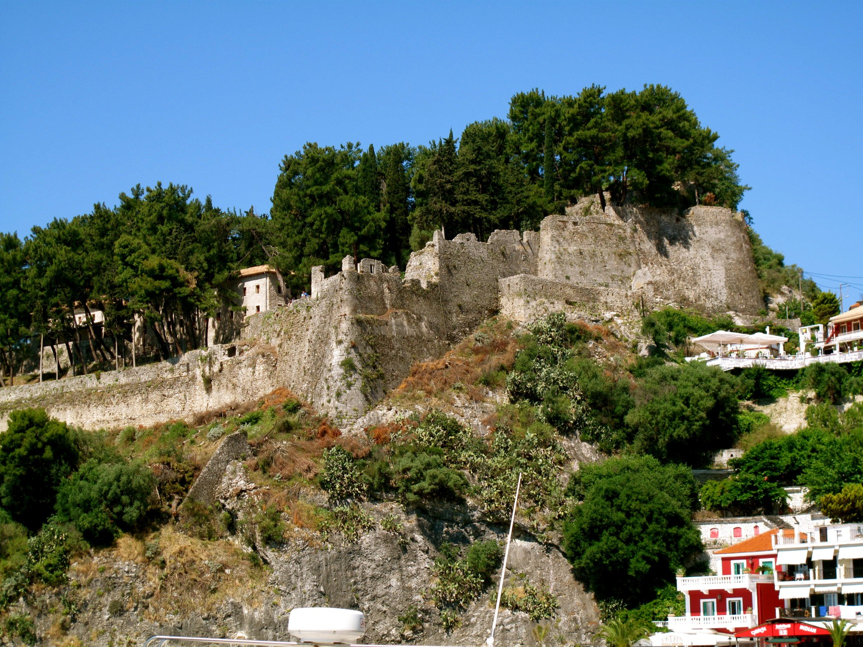 Parga, Greece - Monterrasol small group tours to Parga, Greece. Travel agency offers small group car tours to see Parga in Greece. Order small group tour to Parga with departure date on request.