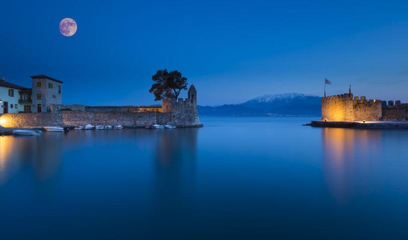 Nafpaktos, Greece - Off-season Greece+Albania UNESCO places 26 days tour from Athens. Monterrasol Travel tour in small group minivan.