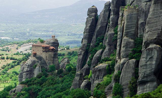 Meteora, Greece - Greece off-season UNESCO places tour 27 days from Athens. Minivan small group tour by Monterrasol Travel.