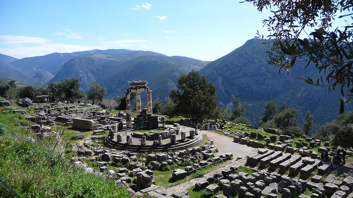 Delphi, Greece - Greece discovery 9 days tour from Athens. Ancient towns, beaches, castles and monasteries. Small group tour in minivan by Monterrasol Travel.