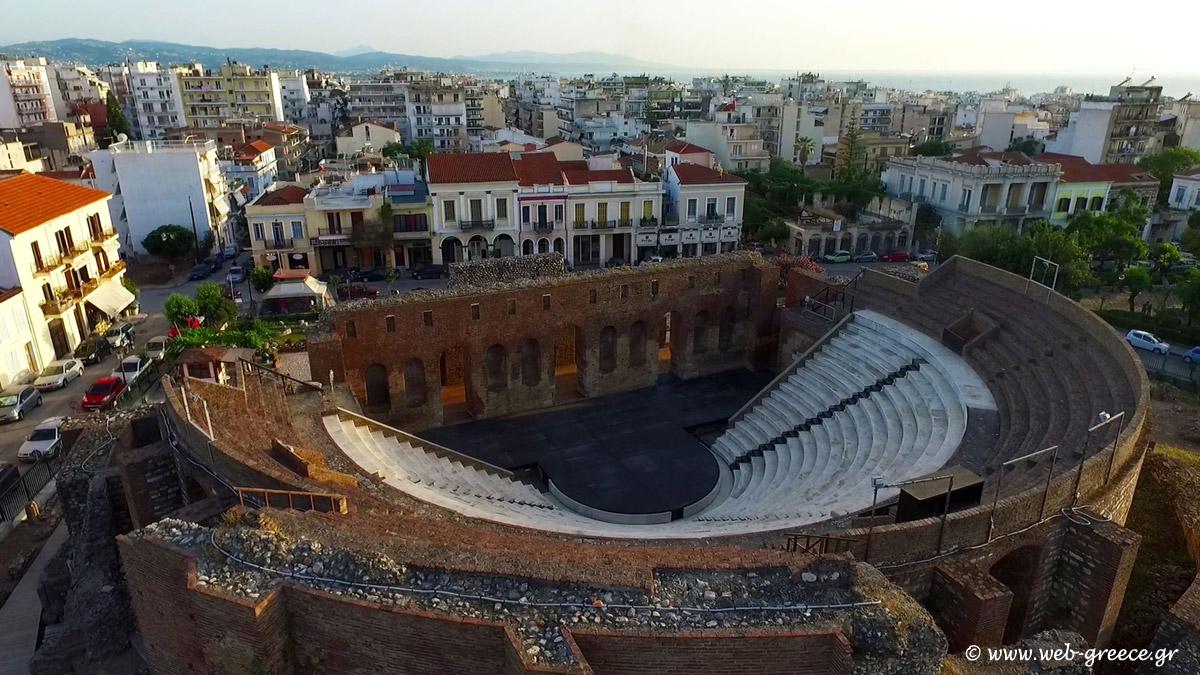 Patras, Greece - Greece off-season UNESCO places tour 27 days from Athens. Minivan small group tour by Monterrasol Travel.