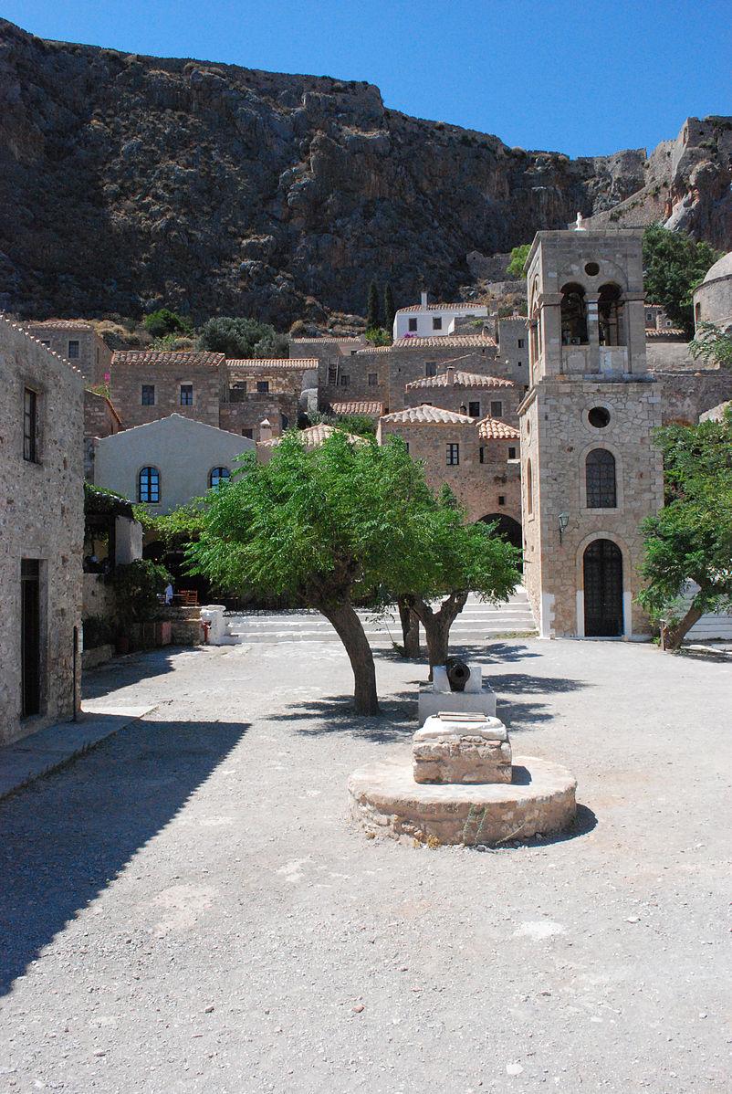 Monemvasia, Greece - Greece off-season UNESCO places tour 25 days from Athens. Small group tour in minivan from Monterrasol Travel.