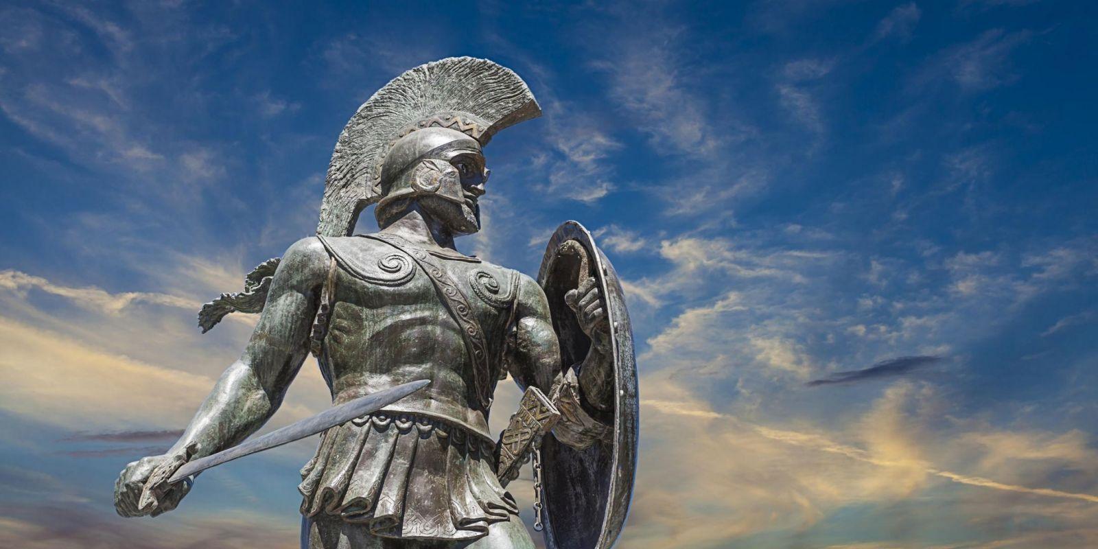 Sparta, Greece - Explore Greece by off-season 16 days tour from Igoumenitsa. UNESCO sites, fortresses, monasteries. Small group tour from Monterrasol Travel by car.