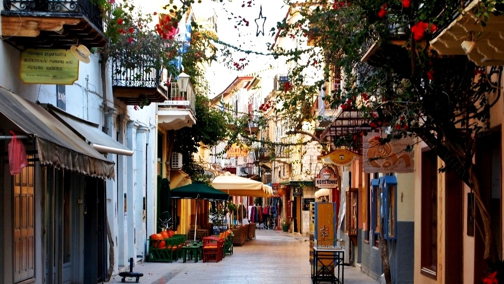 Nafplio, Greece - Greek Peloponnese round tour in 15 days. Visit all main attraction of Peloponnese peninsula and see castles, ancient places, beaches. This is Peloponnese where located Sparta, Corinth, Mycenae, Epidaurus, Monemvasia.