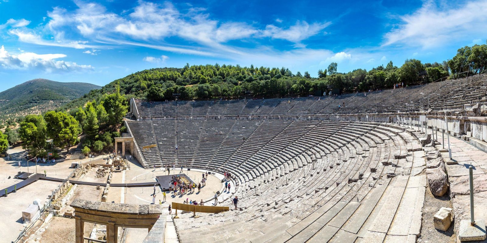 Epidaurus, Greece - Monterrasol small group tours to Epidaurus, Greece. Travel agency offers small group car tours to see Epidaurus in Greece. Order small group tour to Epidaurus with departure date on request.