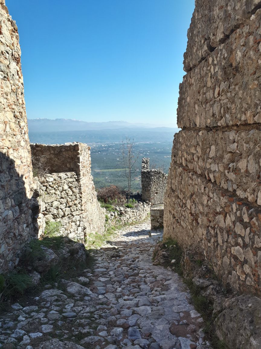 Mystras, Greece - Greece cultural tour 12 days from Athens. Monterrasol Travel small group minivan tour.