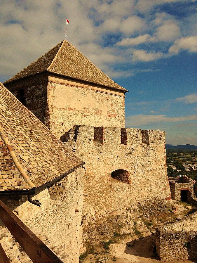 Sümeg (Sumeg), Hungary - Balkans castles tour 13 days. Visit 17 castles & fortresses in Hungary, Croatia, Bosnia. Monterrasol Travel minivan small group tour.